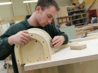 Terry-working-on-staircase-Joinery-Shop-200x150